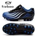 TIEBAO Brand High Quality Light Children AG Soles Footbals Shoes Boys Football Boots Grass Sports Chuteira Girls Kids' Sneakers