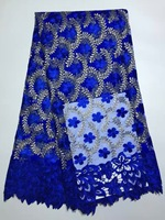 African french lace fabric high quality Mesh material beautiful french lace 2017 Cheap lace fabric with free shipping JY009