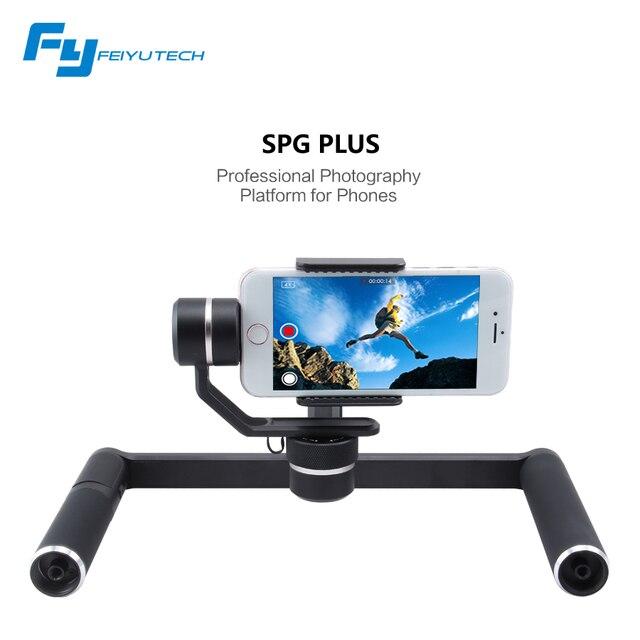 FeiyuTech SPG PLUS 3-axis handheld smartphone gimbal professional photography platform for phones