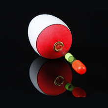 6pcs/set EVA Sea Pole Rock Floating Fishing Float Foam Floats Support Glow Luminous Stick Inserted 6 sizes10g – 60g