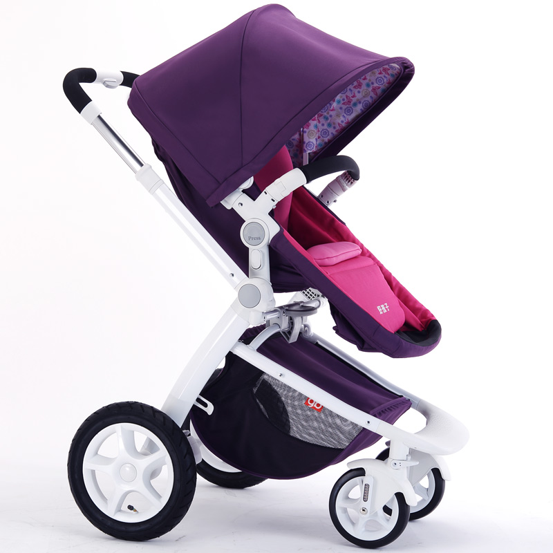 Good Quality Portable Baby Strollers Children Carriage Stroller Fashion Baby Buggy Pushchair High Landscape Pram Free Shipping