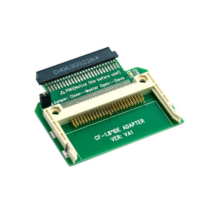 100 teile/lose CF Compact Flash Merory Card 50pin 1,8 zoll <font><b>ide</b></font> festplatte ssd converter <font><b>adapter</b></font> für toshiba, durch UPS DHL image