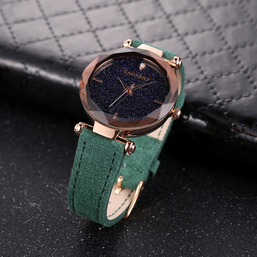cagarny 2018 Leather Women Watches Ladies Luxury Brand Famous Wrist Watch Fashion Dress Female Clock Relogio Feminino Montre Femme drop shipping (8)