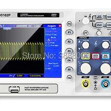 Hantek DSO5102P цифровой осциллограф Портативный 100 МГц 2 Каналы 1GSa/s TFT ЖК-экран USB Osciloscopio портативные осциллографы