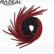 """Razeal 3 шт. 2"""" ombre 100 г/шт. 20strands искусственная Locs крючком тесьмы Синтетические пряди для наращивания волос высокое Температура волокно"""