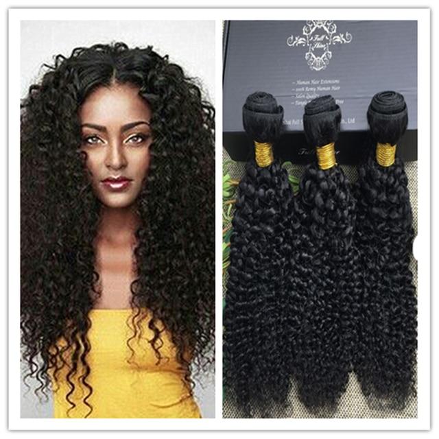 Full Shine Brazilian Unproecssed Human Hair Weaves Sew In Extensions