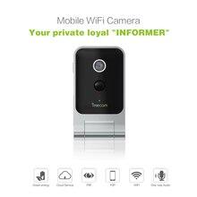 FREECA C320 mini Móvel Alimentado Por Bateria HD wifi Câmera IP Sem Fio Da Câmera de Segurança Em Casa com Motion-Ativado e Alerta push