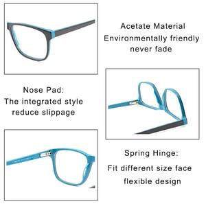 Image 5 - Kirka Men Glasses Frame Optical 2020 Vintage Men Clear Lens Prescription Spectacles Acetate Eyewear Eyeglasses Frame For Men