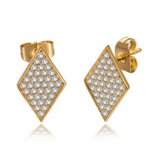 Angelgirl Jewelry High quality zircon earrings for women with classic fashion holiday gifts E1510567(China)