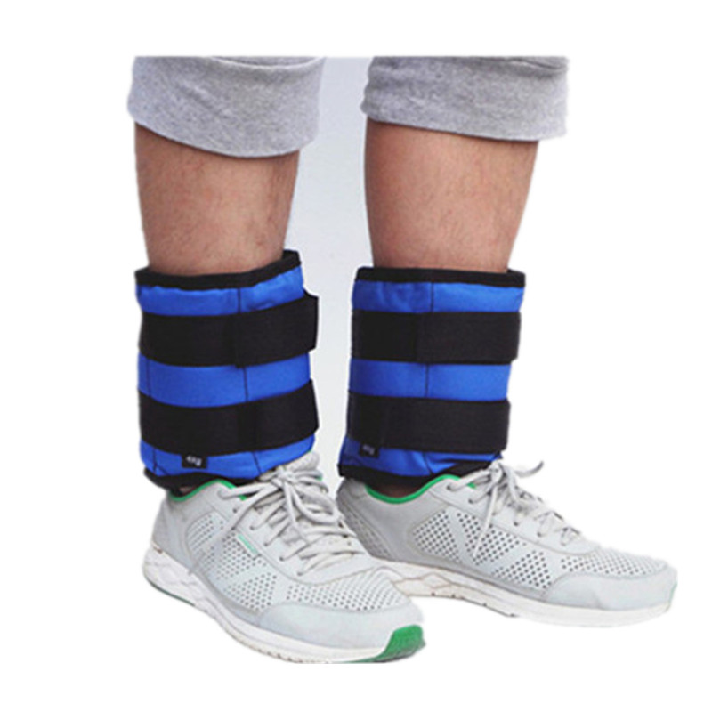 2pc/1pair 1kg Leg Ankle Weights Straps wrist weight