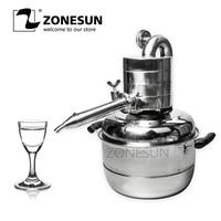 ZONESUN New condition essential oil extraction machine distillation