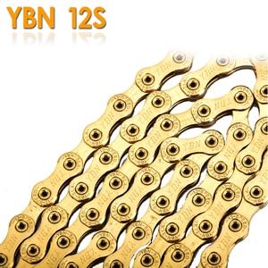 Image 4 - YBN SLA Ti titanyum altın bisiklet zinciri 12 hız 126 bağlantılar sihirli bağlantı düğmesi ile uyumlu SRAM GX kartal 12s bisiklet zinciri 126L