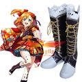 Amor En Vivo! Honoka Kousaka Taisho Despertar Kimono Cosplay Zapatos Botas