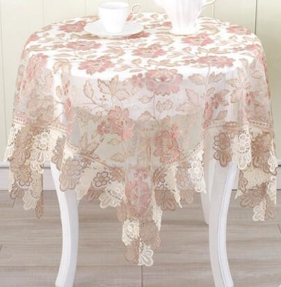 European style lace tablecloth table cloth fabric table cloth cover towels round table cloth TV cabinet towel cloth