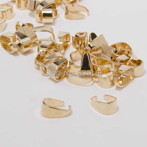 Buy gold bail bead and get free shipping on aliexpress mozeypictures Images
