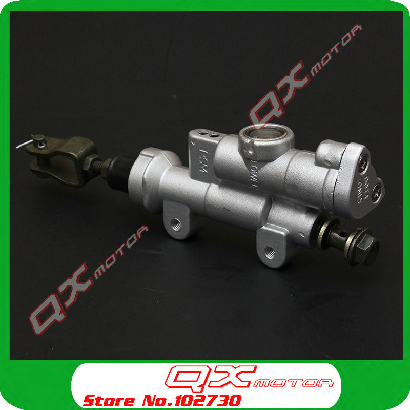 цены  Free Shipping 2004-2012 CR125 CR250 CRF250 CRF450 X R xmotos kayo dirt bike parts rear brake pump brake master cylinder pump