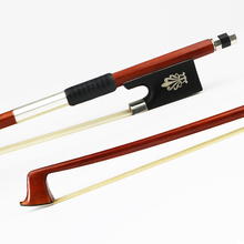 Free Shipping High Quality 4/4 Size Pernambuco Violin Bow Ebony Frog Natural Mongolia Horsehair Violin Parts Accessories free shipping luthier tools violin viola clamps high quality durable