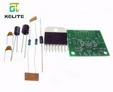1set TDA7297 amplifier board spare parts dc 12v grade 2.0 dual audio encoding 15w electronic diy kit