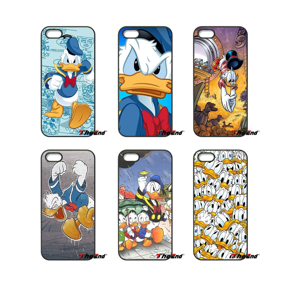 Fashion Cute Cartoon Donald Duck Mobile Phone Case For