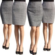 Fashion autumn 2016 new women skirt plus size high waist work slim pencil skirt open fork sexy office lady skirts female S-4XL