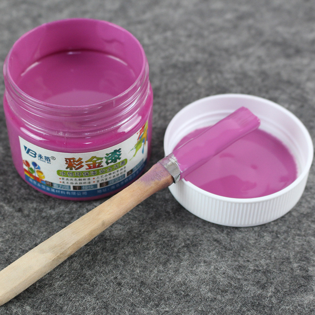Violet Water Based Paint ,Metallic Lacquer , Wood Varnish, Furniture Color  Change,