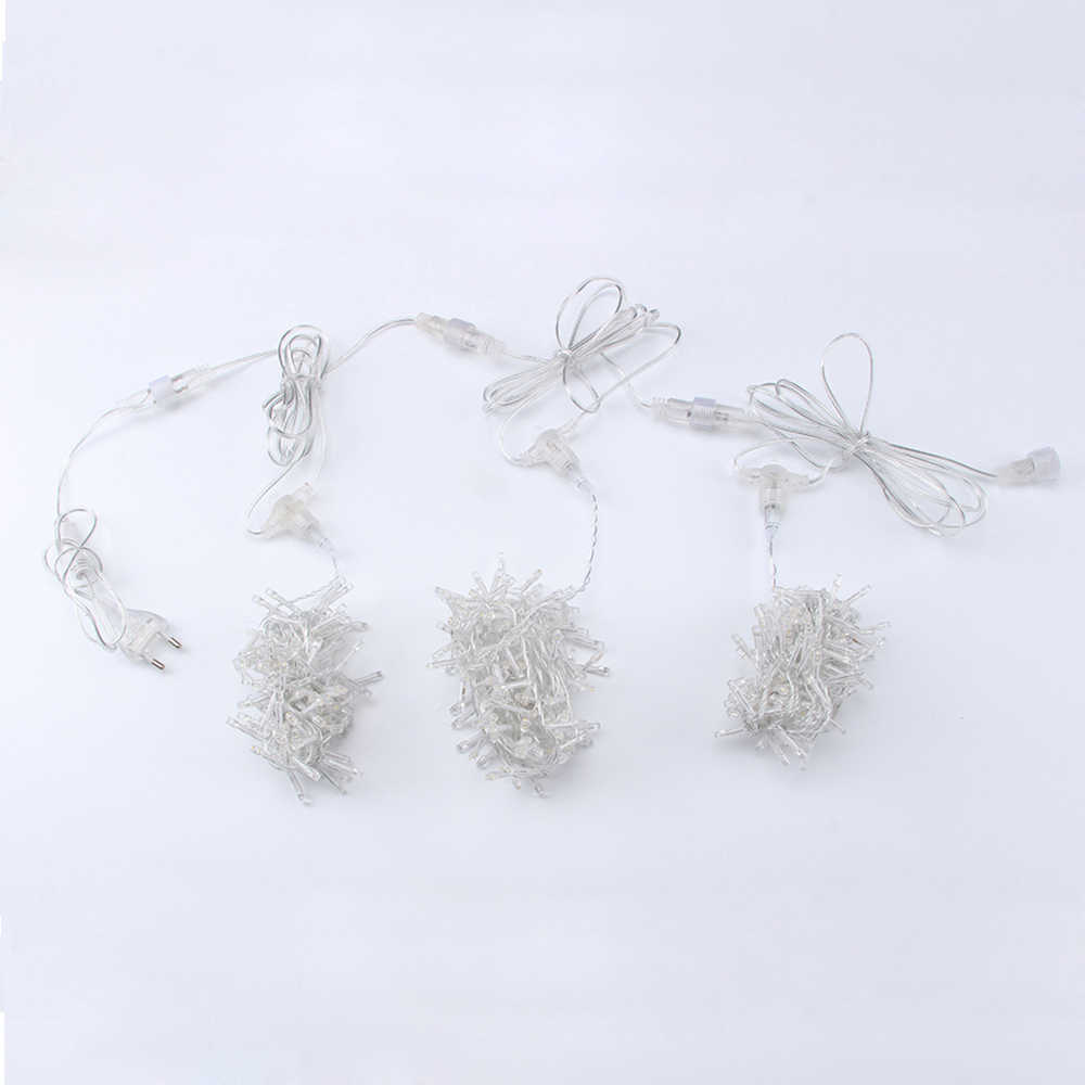 1 5m 2 5m 3 5m Warm White Fairy Lights Christmas Garland Led Racimos String Lights For Wedding Party Garden Decor Curtain