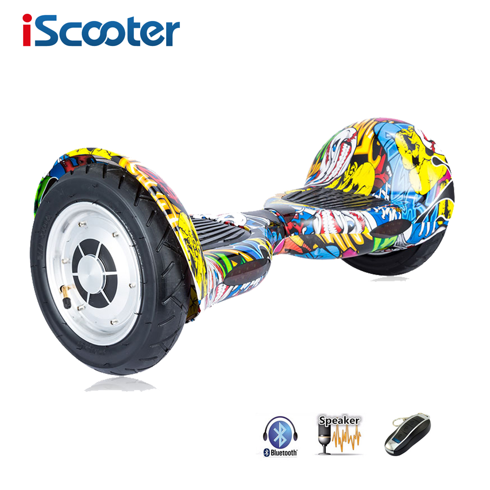 iscooter hoverboard 10 inch bluetooth 2 wheel self. Black Bedroom Furniture Sets. Home Design Ideas