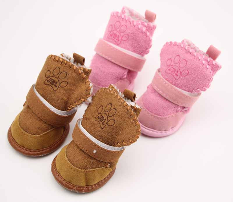 SYDZSW Pet Shoes for Dogs Cats Winter Small Dog Puppy Anti-slip Boots Yorkshire Snow Boots Chihuahua Supplies Out Door Pet Porducts2