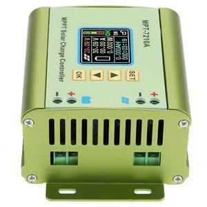 Image 4 - Controlador de carga Solar MPPT LCD DC DC 24V, 36V, 48V, 60V, 72V, 0 10A, regulador de refuerzo de batería de litio ajustable, MPT 7210A