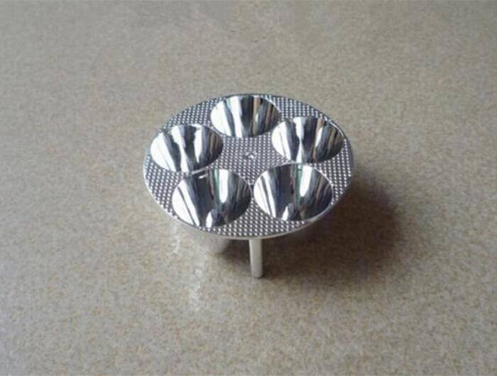 FHOM-71.5 High quality Led Reflector Cup, Motorcycle Reflective Cup, Size: 71.5X24.3mm, Surface: Plating, PC Materials