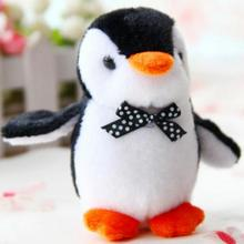 New hot 10cm Mini Penguin Plush Toy Stuffed Animal Doll Kids Toy Best Gift For Wedding / Birthday Friend Kid Children 10cm