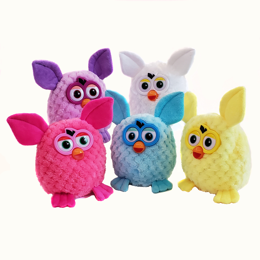 15cm Electronic Pets Furbiness Boom Talking Phoebe Interactive Pets Owl Electronic Recording Children Christmas Gift Toys in Electronic Plush Toys from Toys Hobbies