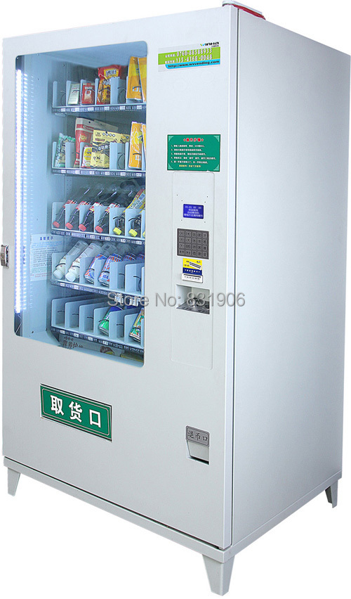 Drinks & Snacks Vending Machine Combo Vending Machine