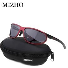 MIZHO Anti-glare Clear Drivers Car Snow Sunglass Female Polaroid UV400 Night Ladies Sunglasses Men Polarized Aluminium Wrap