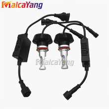 H7 H1 H3 H11 9005 9006 H4 Headlights Kit PhiIip's Chip LUMILEDS LUXEON ZES LED Bulb Automobiles Headlamp Waterproof