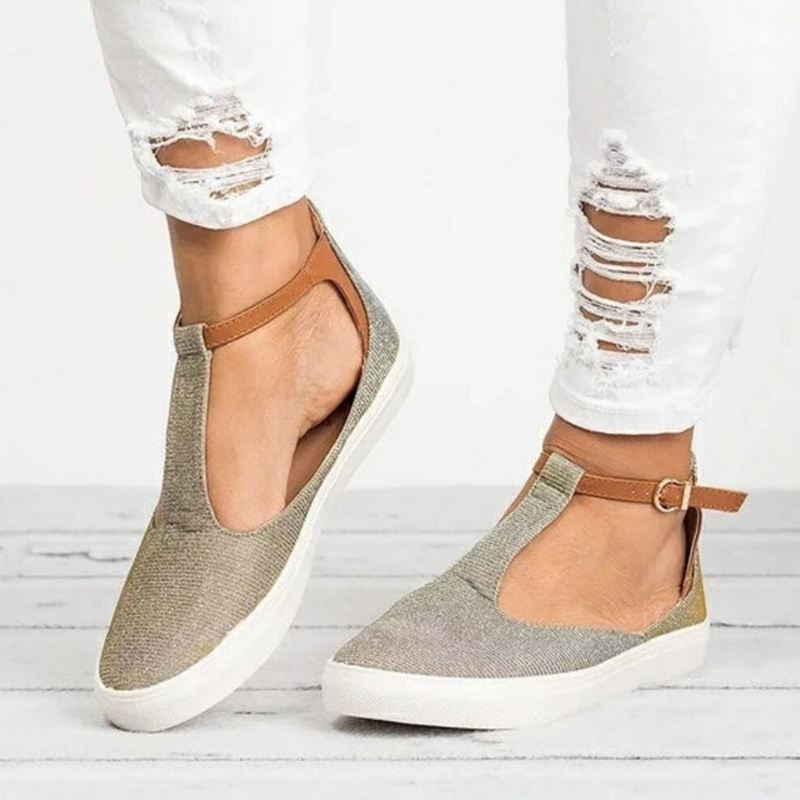 Women sandals Fashion Ladies Round Toe Pumps Flock Shallow Shoes Loafers flat Heel Hollow Out Casual Shoes Spring Women PumpsWomen sandals Fashion Ladies Round Toe Pumps Flock Shallow Shoes Loafers flat Heel Hollow Out Casual Shoes Spring Women Pumps