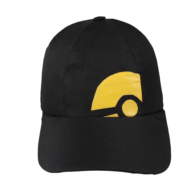 Pokemon GO Cosplay Hat Pokemon Pocket Monster Trainer Female Blue Red Black  Hat Cosplay Accessory Prop Halloween 73b5c04cb21b