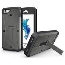 Броня Heavy Duty Танк Гибридных Подставка Для Крышки iPhone 5S 5 SE Телефон Случае Полный Защитный Противоударный 3 в 1 Прочный Резиновый случаях
