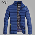 Men Coats Cotton Pad Casual Winter Jacket Men Fashion Thick Parkas Stand Collar Outside Wear For Male Brand Clothing Men's M-4XL