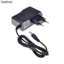 ЕС 12V 1A 5,5mm x 2,1mm источник питания AC 100-240V к DC разъем адаптера для камеры видеонаблюдения/ip-камеры