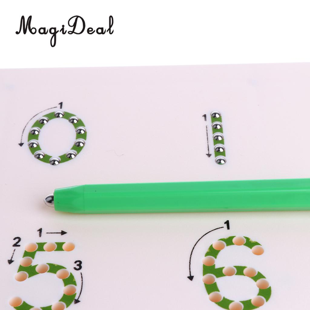 Magnetic Drawing Board for Children Baby Toddler Kids Doodle Drawing Pad Tablet Toys Alphabet Number Educational Writing Gift