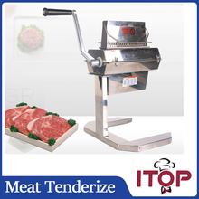 "ITOP MTS5 5""WIDE Manual Meat Tenderizer Meat Cuber Makes meat more delicious Stainless Steel Commercial and Home use"