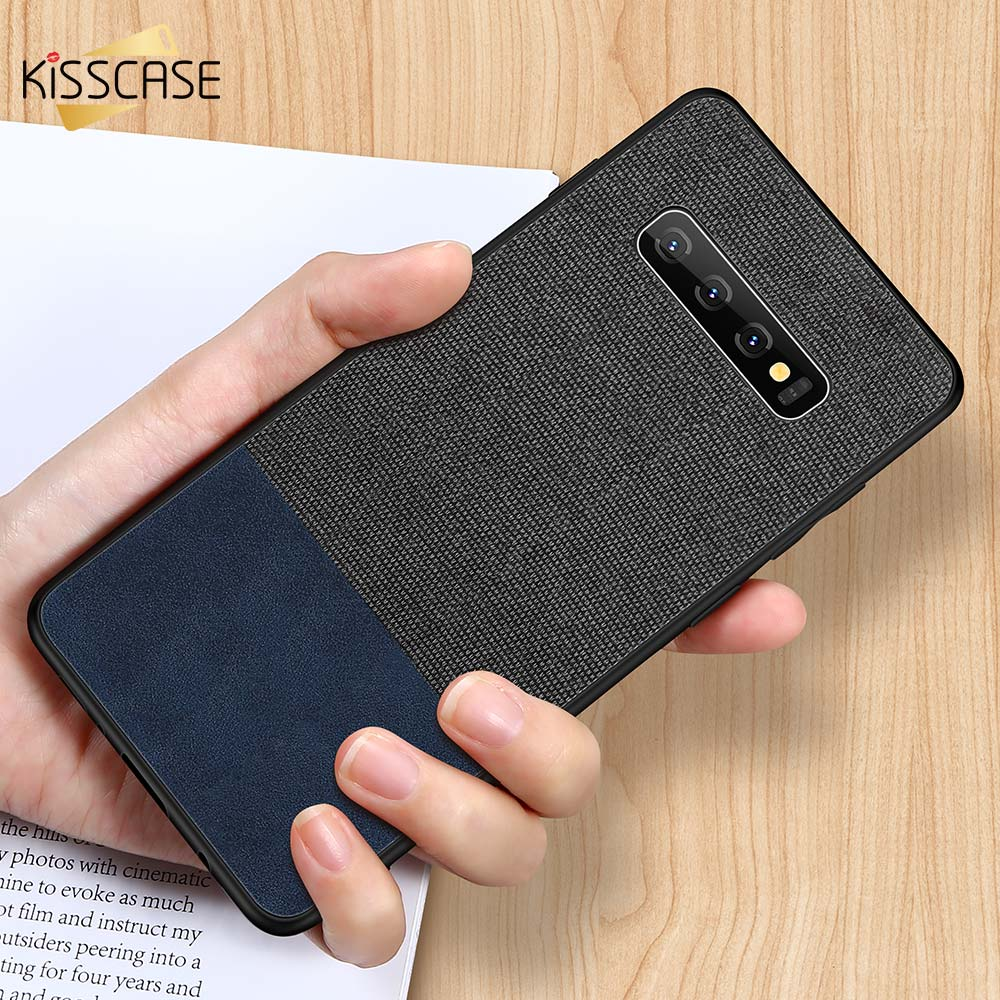 KISSCASE Leather Phone <font><b>Case</b></font> For <font><b>Samsung</b></font> Galaxy A7 <font><b>2018</b></font> <font><b>Cloth</b></font> <font><b>Case</b></font> For <font><b>Samsung</b></font> Galaxy A9 <font><b>A8</b></font> Plus <font><b>A8</b></font> A6 <font><b>2018</b></font> A5 A7 2017 Fundas image