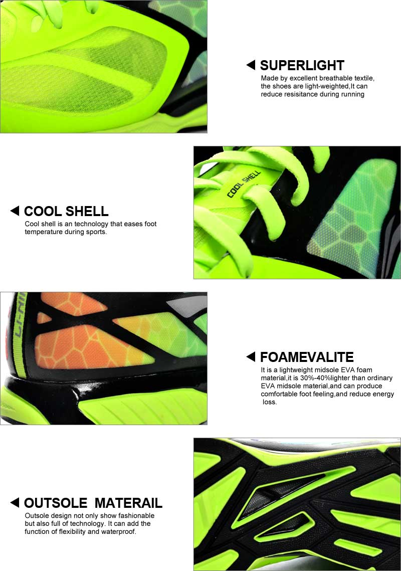 Li-Ning Superlight XI Outdoor Running Shoes Men Light Weight Mesh Breathable Cushioning Lace-Up Sneakers Shoes ARBJ009 XYP270 21
