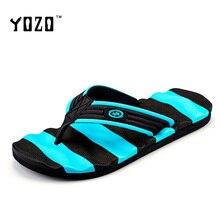 YOZO Men Sandals Fashion Luxury Flat Casual Shoes Men Slippers Breathable Massage Flip Flops Men Brand Beach Sandals 4 Colors