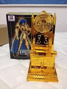 Image 5 - MC Metal Club Saint Seiya Cloth Myth EX Gold Gemini Pope Throne chair