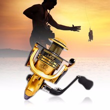 Exquisite Fishing Vessel High Speed G-Ratio 5.2:1/4.7:1 Metal Line 13+1BB Gapless Fishing Reel Fish Tools New Style