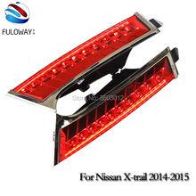Car-styling LED Rear lights LED Bumper Light LED Taillight with Brake light style for Nissan X-tail X Tail xtail 2014 2015