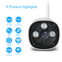 EasyN HD 1080P 2.0MP Wireless IP Camera CCTV Surveillance Security Camera Weatherproof Night Vision(China)