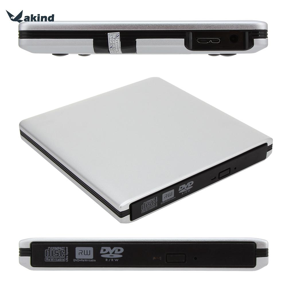 USB 3.0 CD DVD Burner Writer Externe Optique Lecteur DVD SATA Exteranal ODD/HDD Dispositif pour Mac Ordinateur Portable Netbook